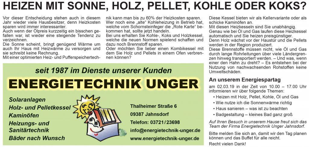 Energietechnik Unger Chemnitz